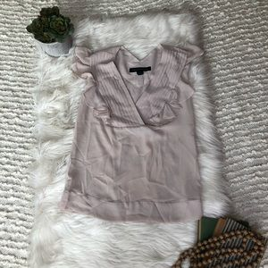French connection ruffle blouse